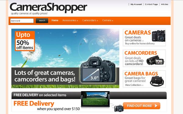 Wordpress Online Store Themes - Web source blog - tutorials and ...